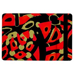 Red artistic design iPad Air 2 Flip