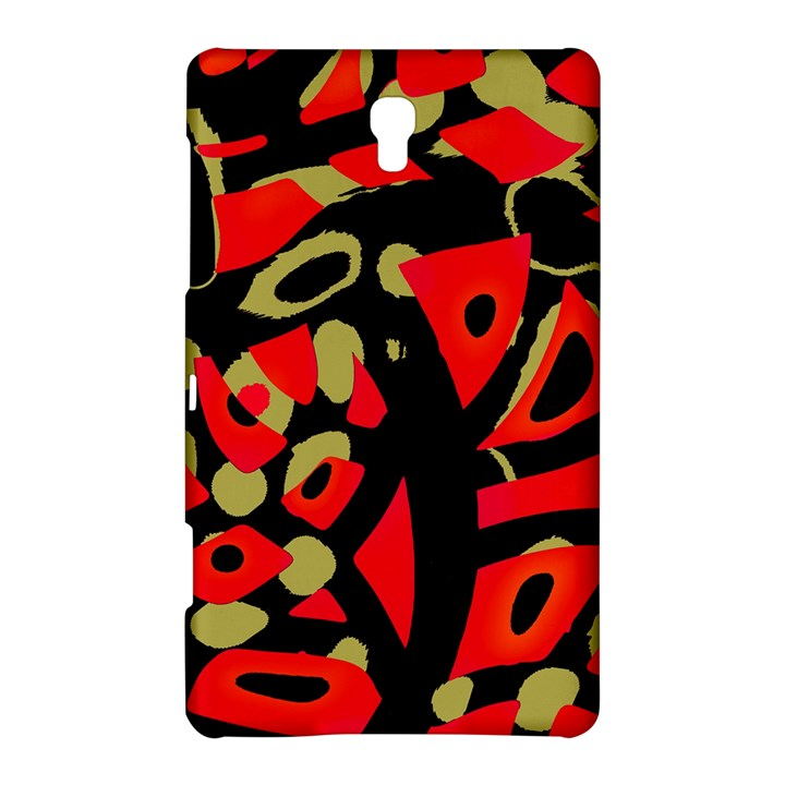 Red artistic design Samsung Galaxy Tab S (8.4 ) Hardshell Case
