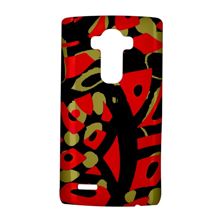 Red artistic design LG G4 Hardshell Case