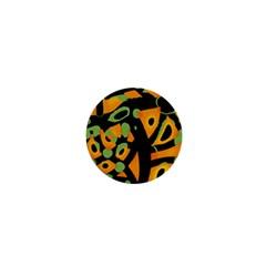 Abstract animal print 1  Mini Magnets