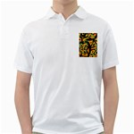 Abstract animal print Golf Shirts Front