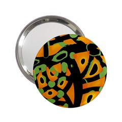 Abstract animal print 2.25  Handbag Mirrors