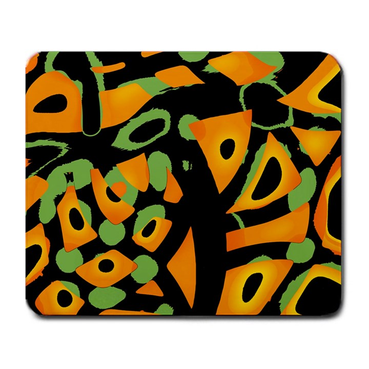 Abstract animal print Large Mousepads