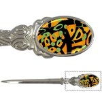 Abstract animal print Letter Openers Front