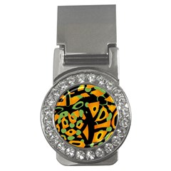 Abstract Animal Print Money Clips (cz)