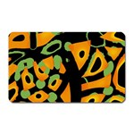 Abstract animal print Magnet (Rectangular) Front