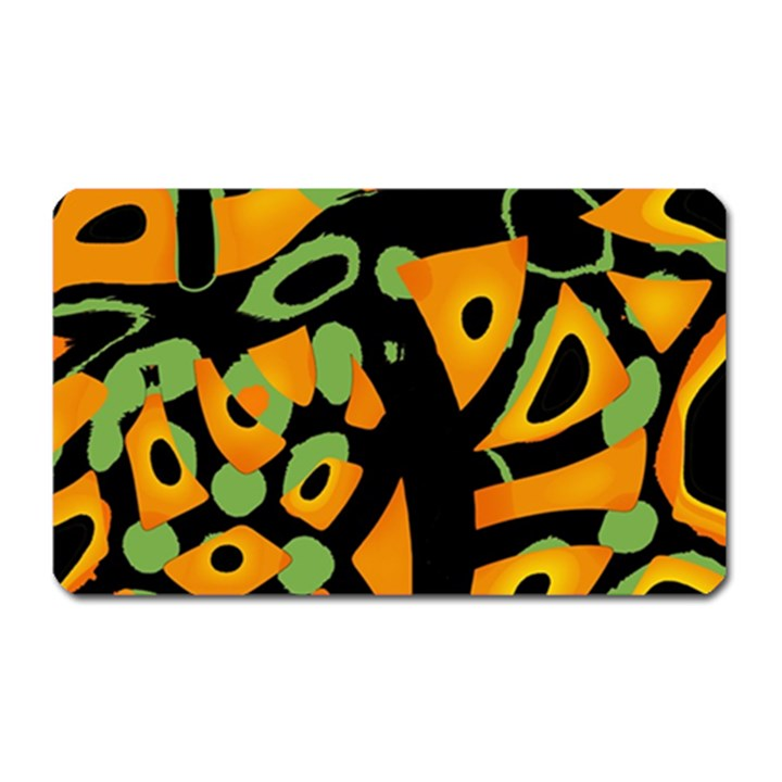 Abstract animal print Magnet (Rectangular)