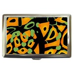 Abstract animal print Cigarette Money Cases Front
