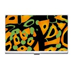 Abstract animal print Business Card Holders Front
