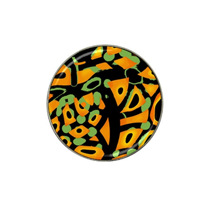 Abstract animal print Hat Clip Ball Marker (10 pack)