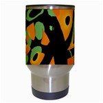 Abstract animal print Travel Mugs (White) Center