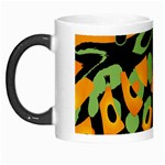 Abstract animal print Morph Mugs Left
