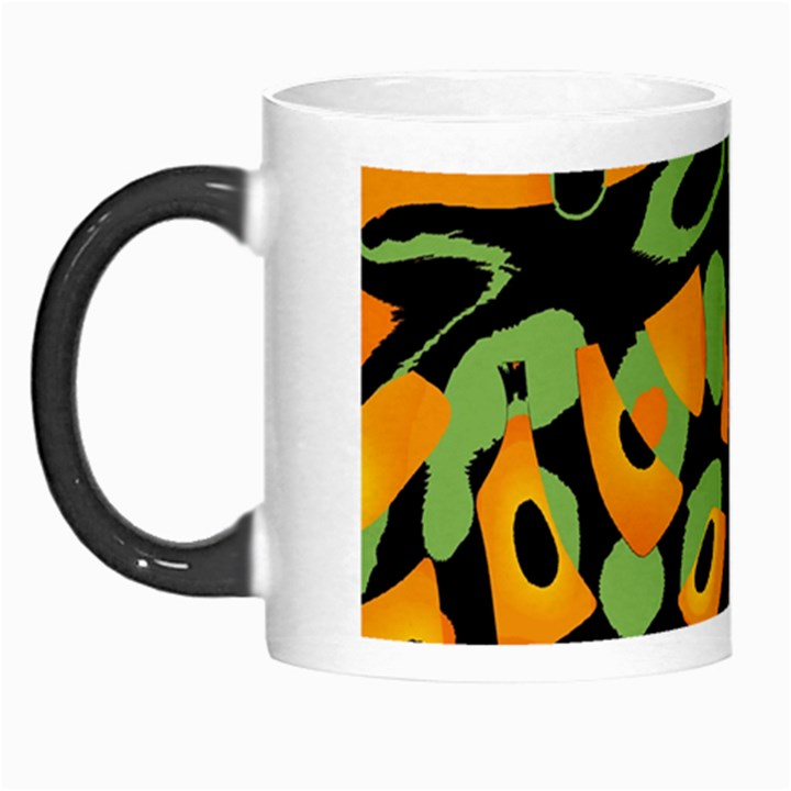 Abstract animal print Morph Mugs