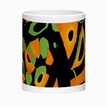 Abstract animal print Morph Mugs Center