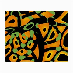 Abstract animal print Small Glasses Cloth
