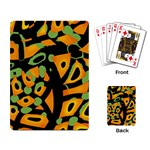 Abstract animal print Playing Card Back