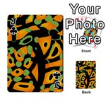 Abstract animal print Playing Cards 54 Designs  Front - ClubJ