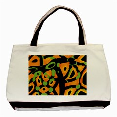 Abstract Animal Print Basic Tote Bag