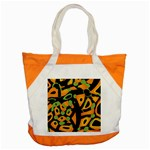 Abstract animal print Accent Tote Bag Front