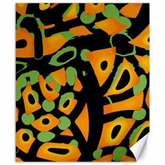 Abstract animal print Canvas 8  x 10