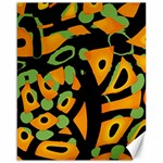 Abstract animal print Canvas 16  x 20   20 x16 Canvas - 1