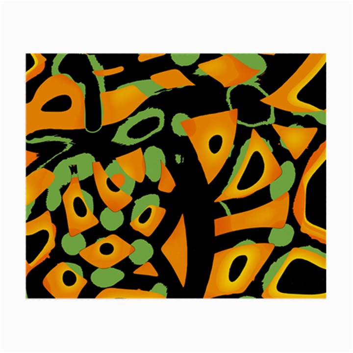 Abstract animal print Small Glasses Cloth (2-Side)