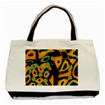 Abstract animal print Basic Tote Bag (Two Sides) Back