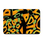 Abstract animal print Small Doormat  24 x16 Door Mat - 1