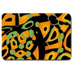 Abstract animal print Large Doormat  30 x20 Door Mat - 1
