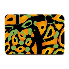 Abstract animal print Plate Mats