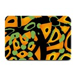 Abstract animal print Plate Mats 18 x12 Plate Mat - 1