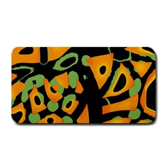 Abstract Animal Print Medium Bar Mats