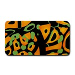 Abstract animal print Medium Bar Mats 16 x8.5 Bar Mat - 1