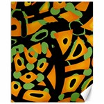 Abstract animal print Canvas 11  x 14   14 x11 Canvas - 1