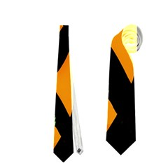 Abstract animal print Neckties (Two Side)