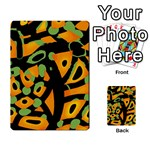 Abstract animal print Multi-purpose Cards (Rectangle)  Back 15