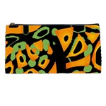 Abstract animal print Pencil Cases Front