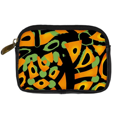 Abstract animal print Digital Camera Cases