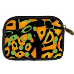 Abstract animal print Digital Camera Cases Back