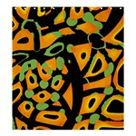 Abstract animal print Shower Curtain 66  x 72  (Large)  58.75 x64.8 Curtain