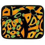 Abstract animal print Netbook Case (XXL)  Front