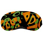 Abstract animal print Sleeping Masks Front