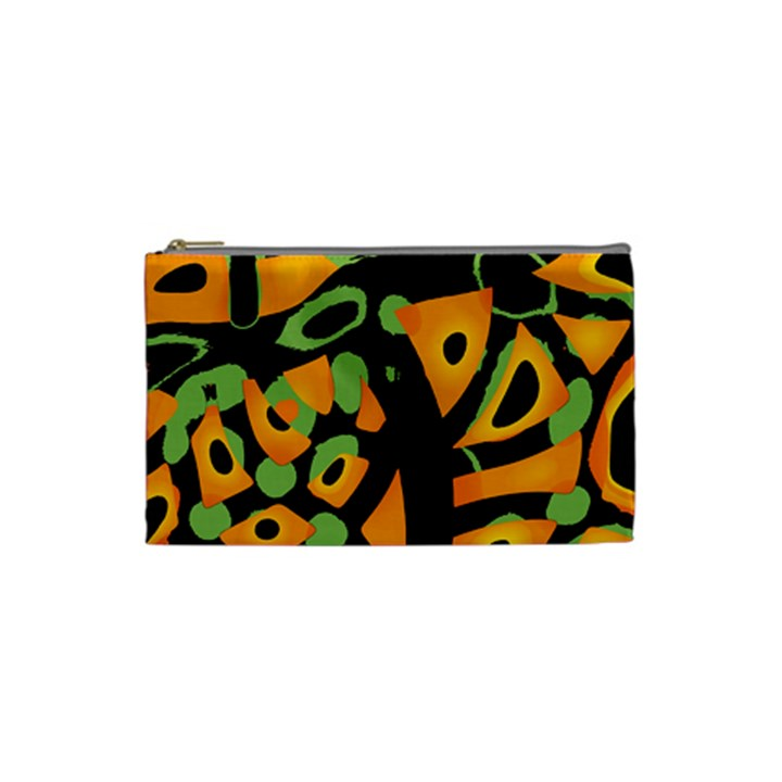 Abstract animal print Cosmetic Bag (Small)