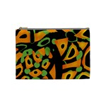 Abstract animal print Cosmetic Bag (Medium)  Front