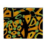 Abstract animal print Cosmetic Bag (XL) Front