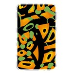 Abstract animal print Memory Card Reader Front