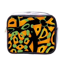 Abstract Animal Print Mini Toiletries Bags