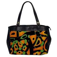 Abstract animal print Office Handbags