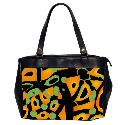 Abstract animal print Office Handbags (2 Sides)