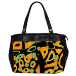 Abstract animal print Office Handbags (2 Sides)  Front